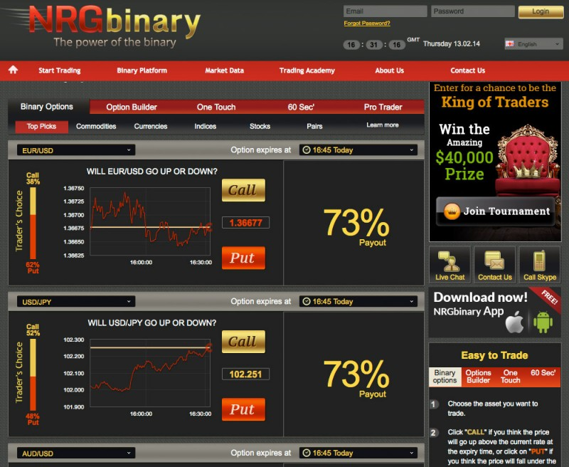 Binary options dominator download