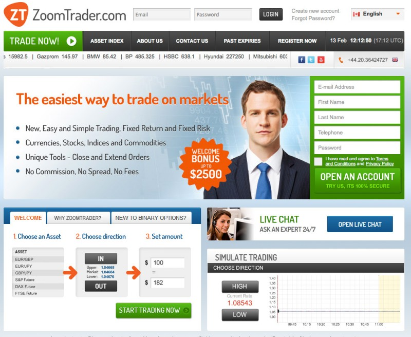 Binary option brokers 2014