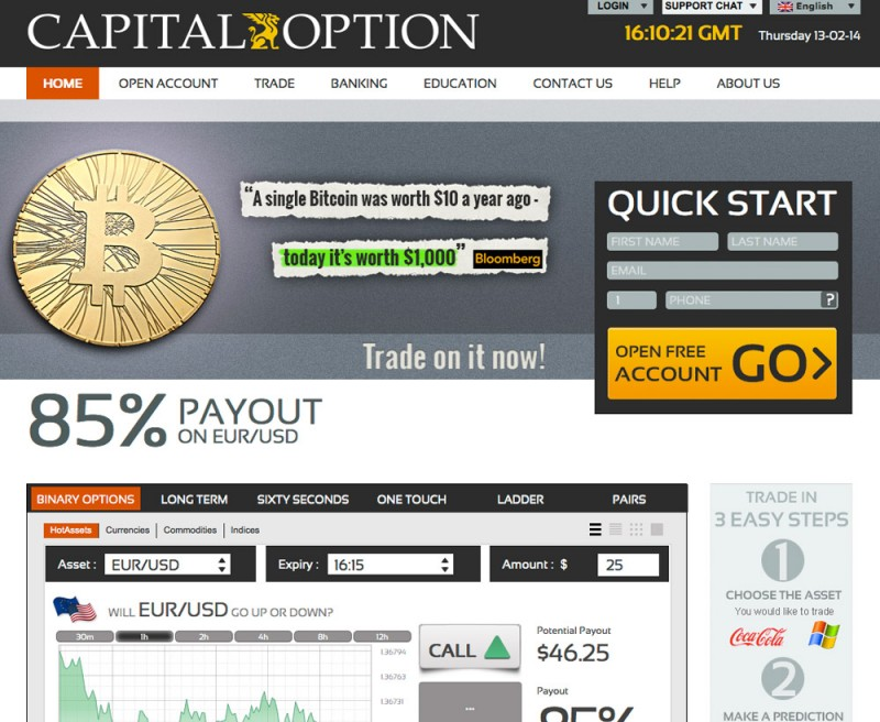 Capital Option Platform