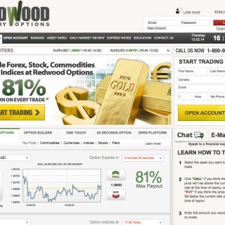 Redwood binary options withdrawal