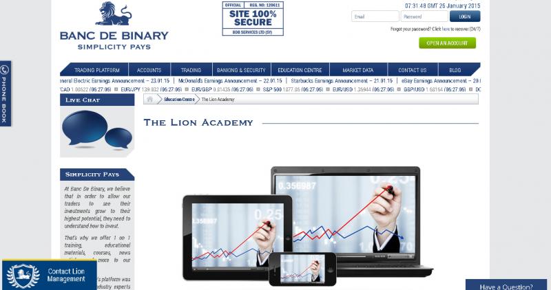 Binary options banc de binary reviews